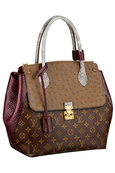 Louis Vuitton - Women's Accessories - 2013 Spring-Summer || great transitional from autumn to winter