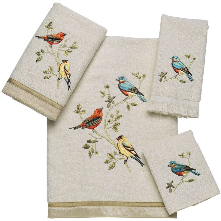 Jcpenney Decorative Bath Towels : Best images about birds and bathrooms on