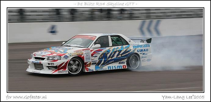 Blitz Nissan Skyline GT-T (ER34) of Ken Nomura (from 2005 D1 Grand Prix)