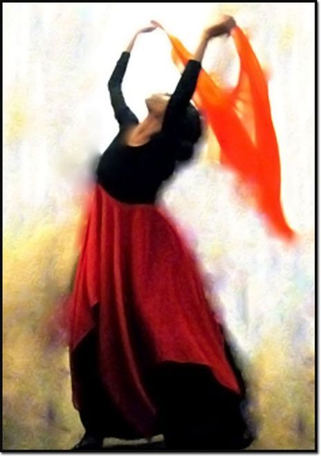 Worship dance unto the Lord