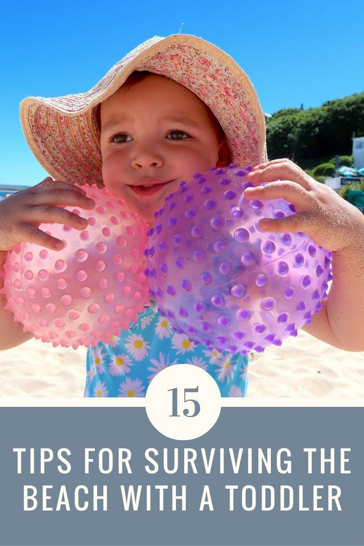 Are you going on holiday with your toddler, or going to the seaside for the first time? Here are 15 Tips For Surviving The Beach With A Toddler