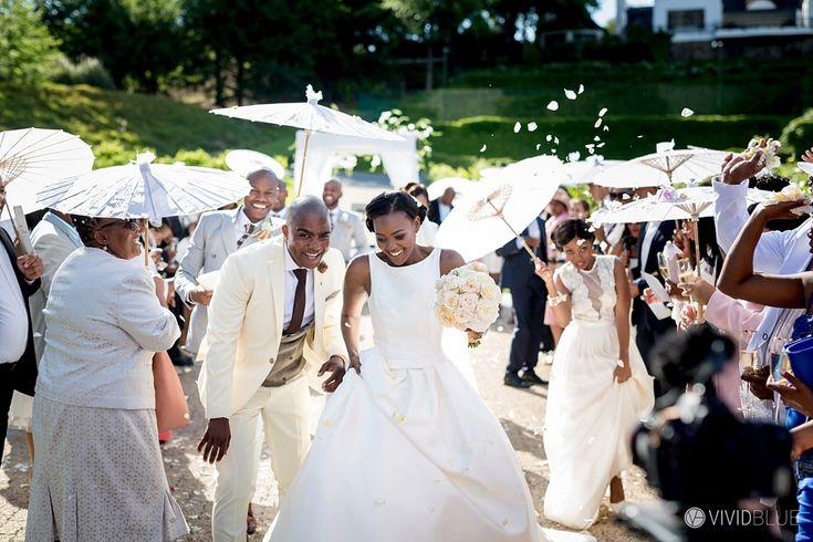 Matome & Nakedi Wedding Molenvliet Photo's by VIVID BLUE