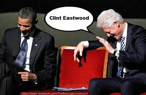 So much laughing with Eastwooding today.