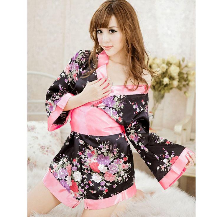 Giocattoli adulti Del Sesso Giapponese Cosplay Uniforme Per Le Donne Lolita Costume Da Cameriera cherry blossom Grande Bowknot Costumi Erotici Del Sesso Gioco FB