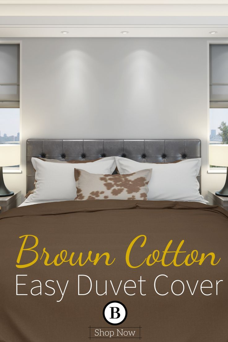Brown Cotton Duvet Cover Brown Duvet Covers Duvet Covers Make
