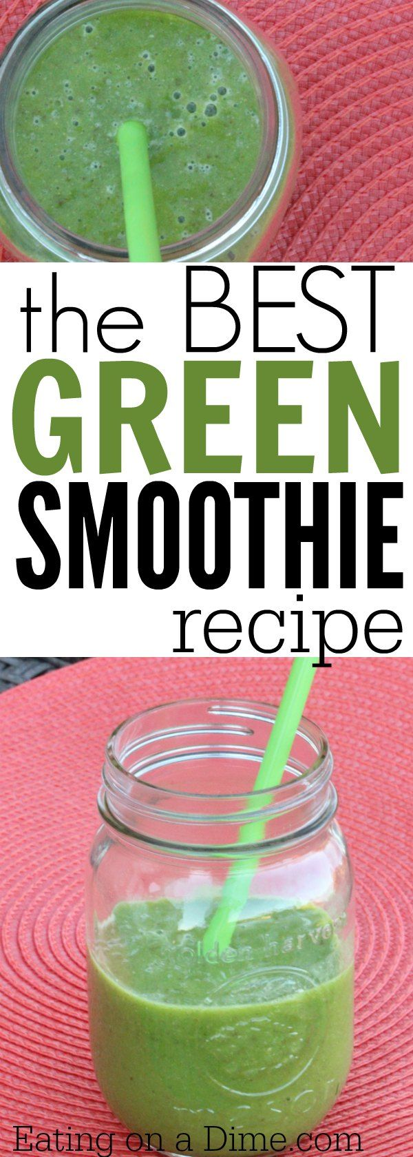 are you wanting to try an easy Spinach smoothie? Make this Spinach Pineapple Smoothie recipe. It is The best Green Smoothie!