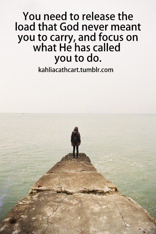 Focus on what He has called you to do!