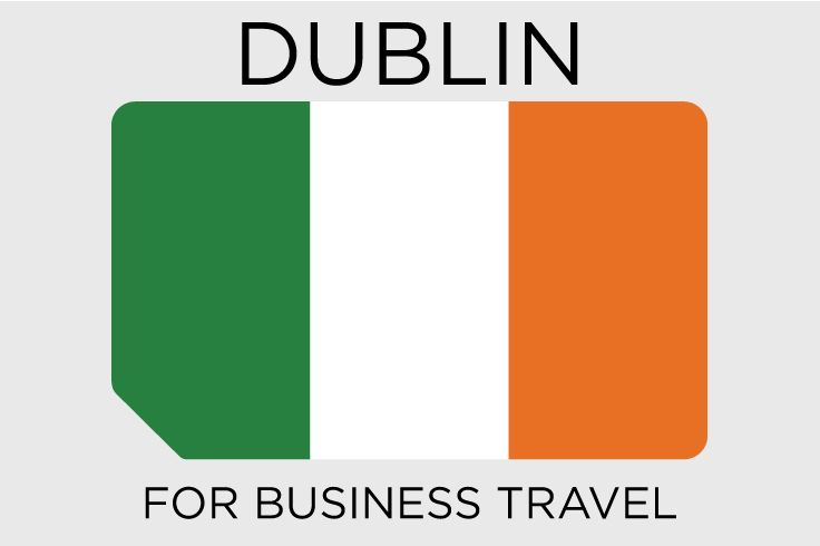 #Dublin - the capital of Ireland - from a business travel perspective