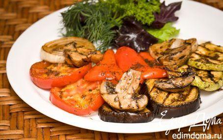 Маринад для овощей гриль | Кулинарные рецепты от «Едим дома!»