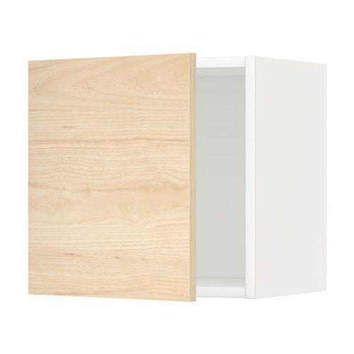METOD Veggskap IKEA Du kan velge å montere døren med åpning til høyre eller venstre. Solid konstruksjon; stammen er 18 mm tykk.