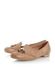 Loki brogues tassel detail loafers - maybe these would work better than pumps/ballerinas etc
