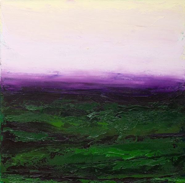 Bett Gallery Hobart - Patrick Grieve - Valley to Pienza Evening 2