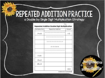 Repeated Addition Practice