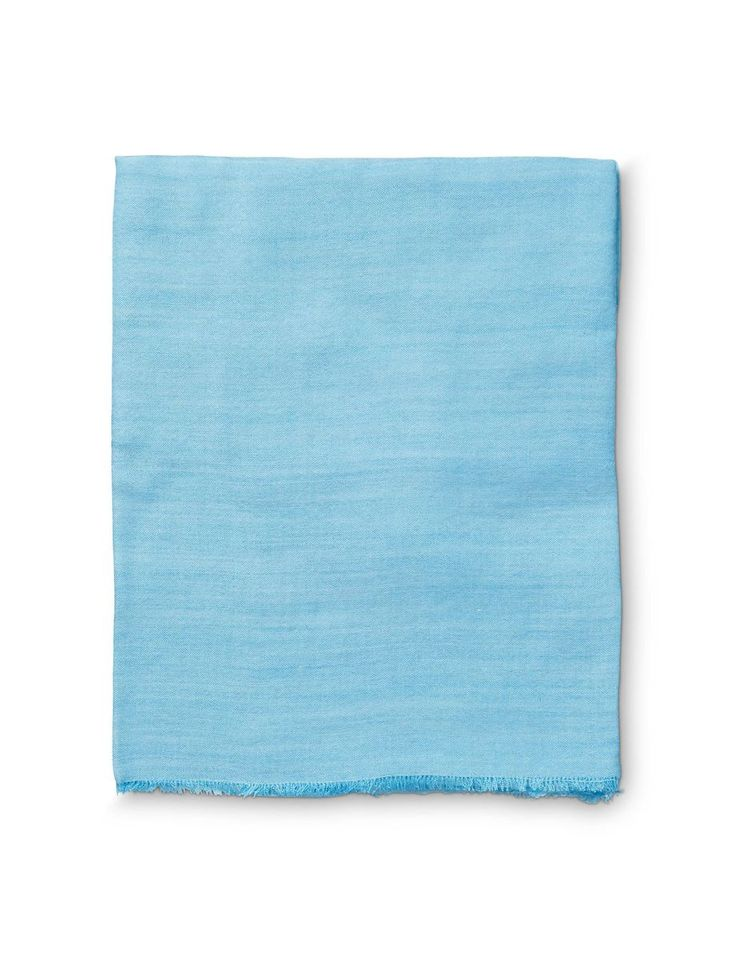 Maddalone scarf-Women's rectangular scarf in solid colour silk wool. Size: 70 x 200 cm
