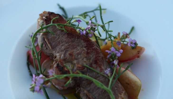 Smoked Lamb & Mustard from season 1, episode 2 of Tareq Taylor's Nordic Cookery. http://gustotv.com/recipes/lunch/smoked-lamb-mustard/