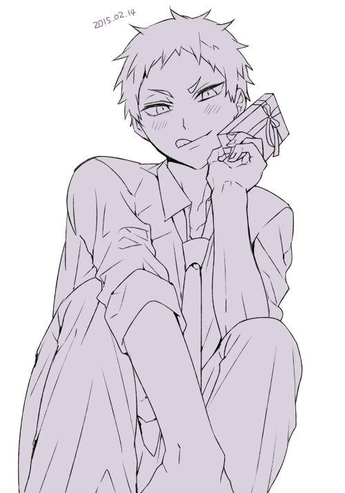 「HQ(腐)ログ⑤」/「バラ子」の漫画 [pixiv]