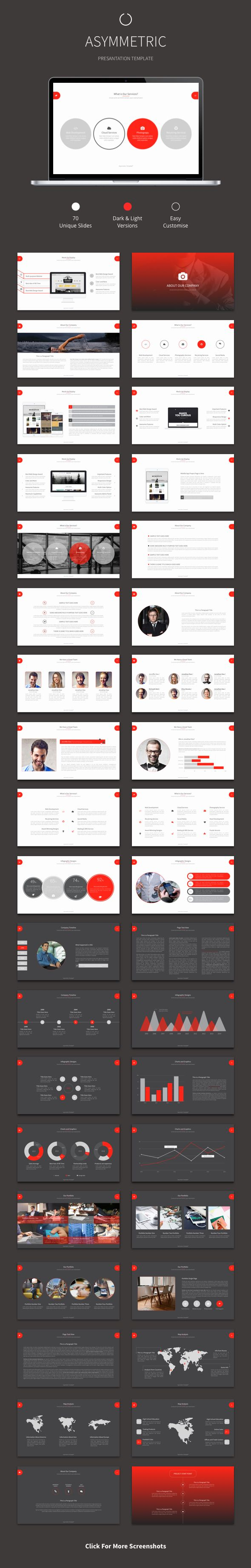Asymmetric - Powerpoint Template