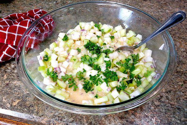 Cucumber Jicama Salad   Recipe