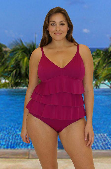 36 best stylish swimsuits images on pinterest | plus size women