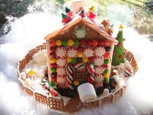 33 Best Graham Cracker Houses Images On Pinterest Christmas