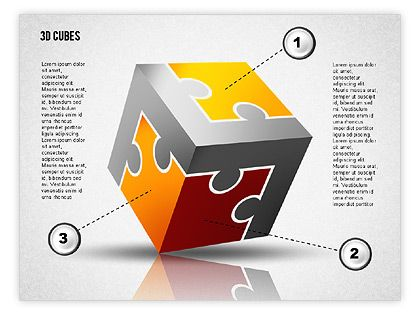 16 best 3d Powerpoint images on Pinterest Presentation, Charts - puzzle powerpoint template