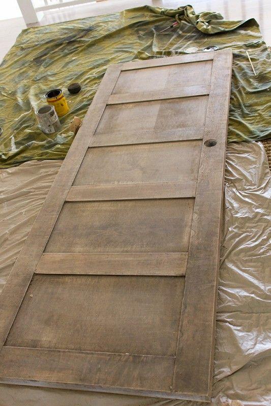 5 Panel Door from a Flat Hollow Core Door (Remodelaholic) & Best 25+ Hollow core doors ideas on Pinterest | Hollow core ... Pezcame.Com