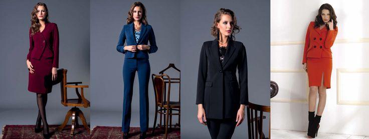 10 tendenze moda Autunno Inverno 2014/15: COMPLETO MONOCOLORE Punto Blu Boutique - Tarquinia