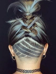 Back Braid Styling Idea
