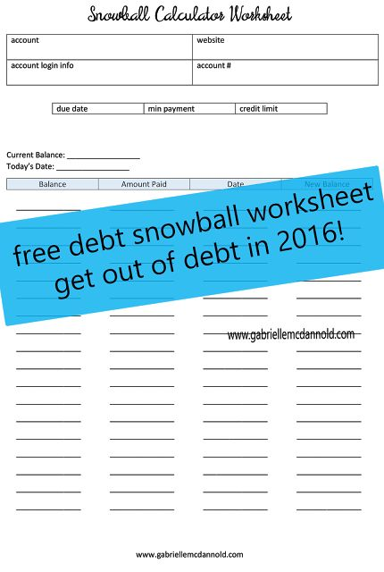 Best 25+ Debt snowball worksheet ideas on Pinterest Dave ramsey - debt reduction calculator