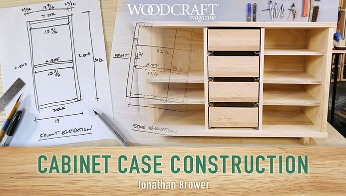 Build custom cabinets perfectly suited for any home! Learn to design and build everything from basic cabinets to customized multi-bay units.