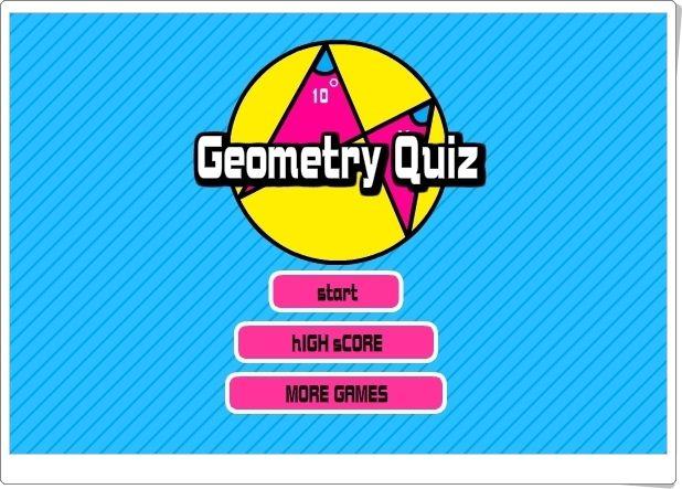 """JUEGOS DE FIN DE CURSO: """"Geometry Quiz"""" (Geometría de Secundaria)"""