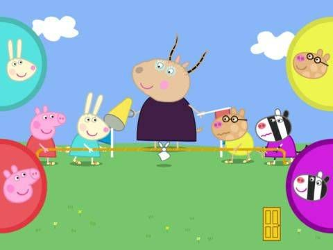 Peppa Pig's Sports Day - a set of sports themed activities and mini-games featuring Peppa and her friends. Appysmarts score: 85/100 http://www.appysmarts.com/application/peppa-pig-s-sports-day,id_64151.php