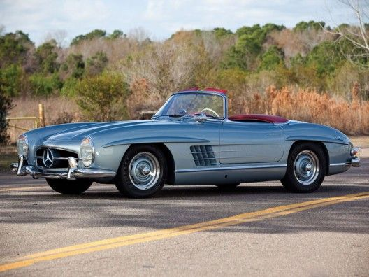 At RM's Amelia Island auction on 8 March in Florida, a Mercedes 300 SL Roadster, delivered new in 1957 to a 19-year-old Natalie Wood, will go under the gavel