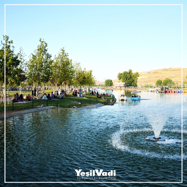 Biraz yeşil biraz mavi bolca huzur...  Türkiye'nin En Büyük Parkı YeşilVadi'ye bekleriz Mutlu Pazarlar #YeşilVadi #MutluPazarlar #Şahinbey #Gaziantep