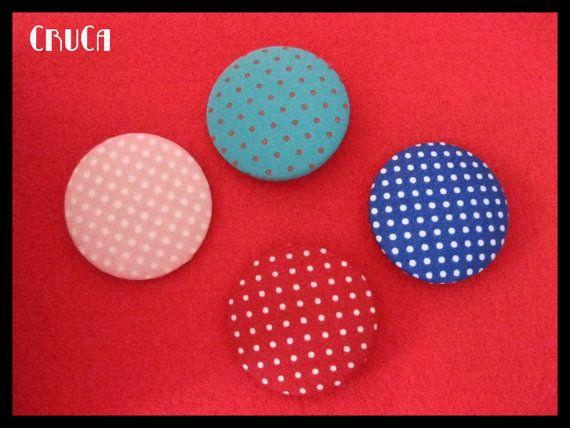 Fabric brooch on Etsy, 4,00€