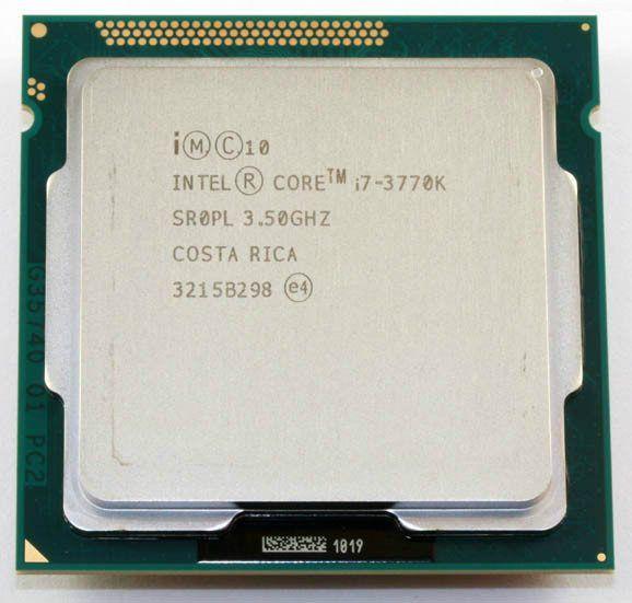 Used Intel i7 3770K Quad Core LGA 1155 3.5GHz 8MB Cache With HD Graphic 4000 TDP 77W Desktop CPU i7-3770K //Price: $263.14//     #electonics