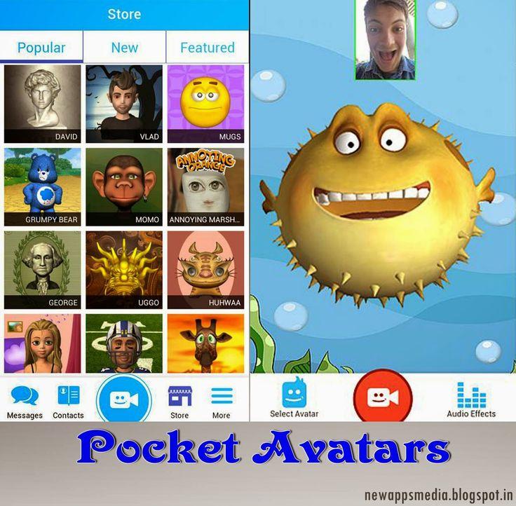 Pocket Avatars 3D Animated massaging App http://newappsmedia.blogspot.com/2014/08/pocket-avatars-3d-animated-messaging-app.html
