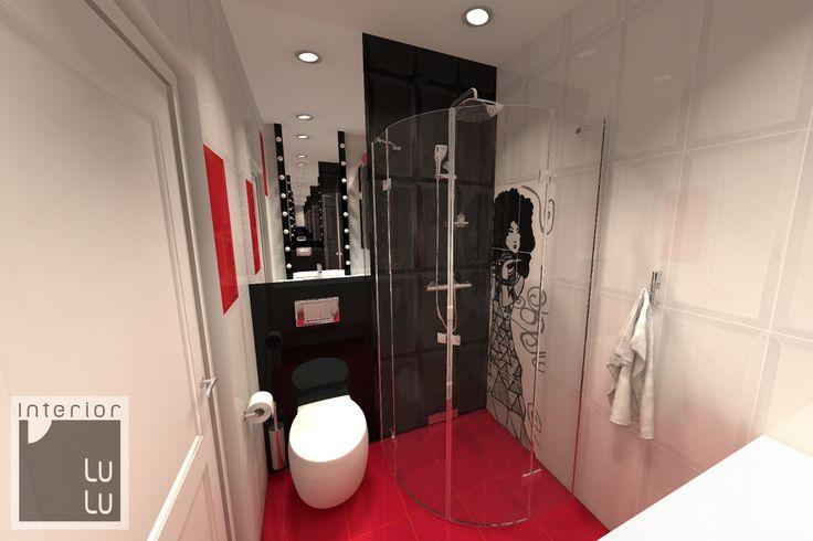 Mała łazienka w bloku aranżacja