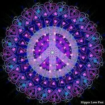 Pin by Caroline Paris on Peace Love and COLOR | Pinterest ... |Peace And Love Purple