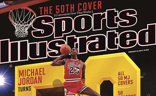 Michael Jordan Gets 50th Sports Illustrated Cover as Legend Turns ...