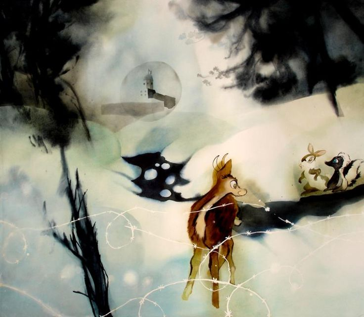 From series Talvisatu/Winter Fairy Tale: Frontier river