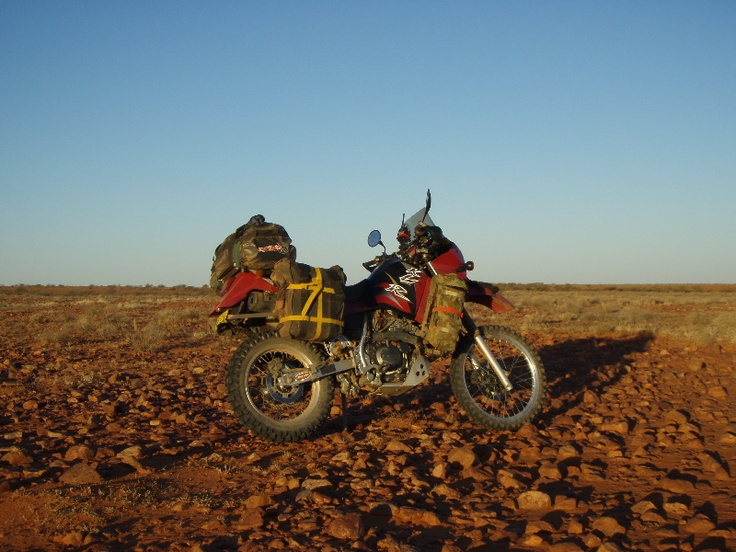 KLR650, best adventure bike ever made, hands down.