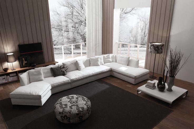 #Domino Sofa By #FrigerioSalotti #madeinitaly #indoor #furniture #homedecor  See More. Modulares SofaZeitgenössische MöbelMöbelkollektionModerne ...