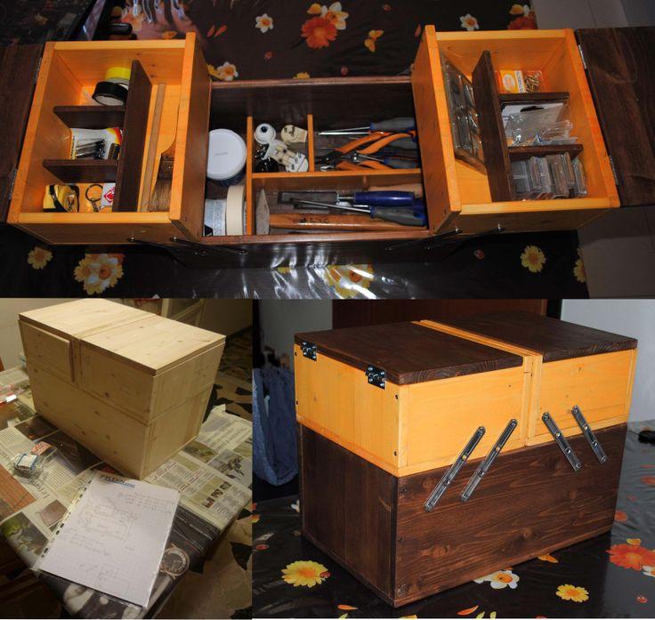 la cassetta degli attrezzi per la mia amica...a box tools for my friend