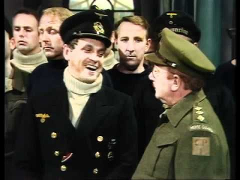 Dad's Army - One of the best comedy moments ever. Looking at it now you realise just how had the German is trying not to laugh.
