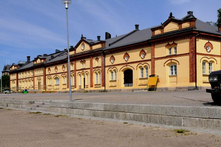Kuntsi modern art museum. -  Vaasa, Ostrobothnia province of Western Finland.- Pohjanmaa - Österbotten