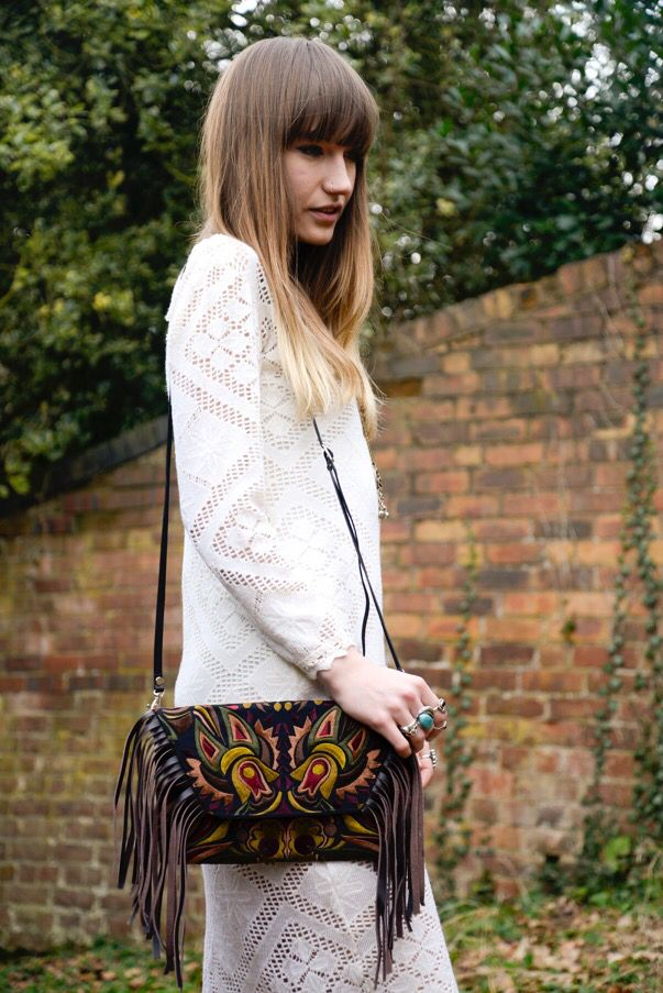 Is anyone going to any festivals this summer? Fringing and embroidery festival fashion at its best