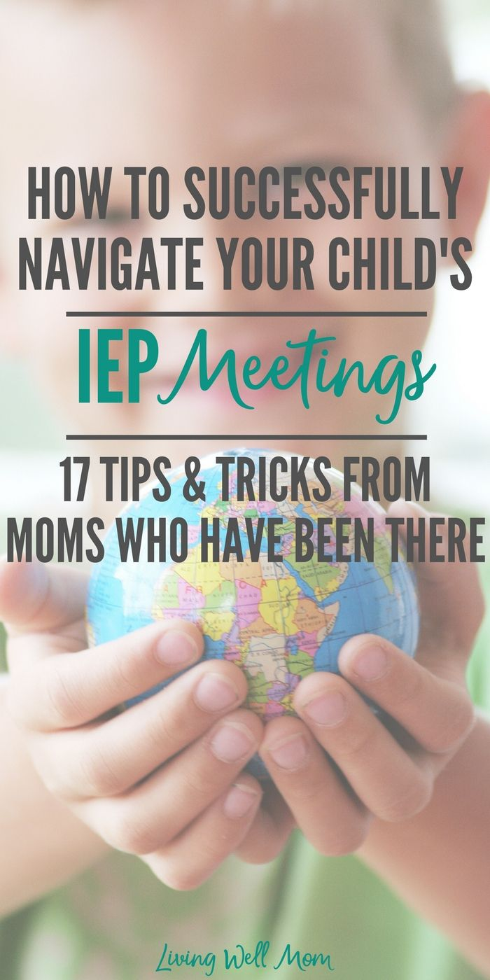17 tips, advice, and insight autism moms want you to know about IEPs and your child, so you can navigate the school system and help your child succeed.