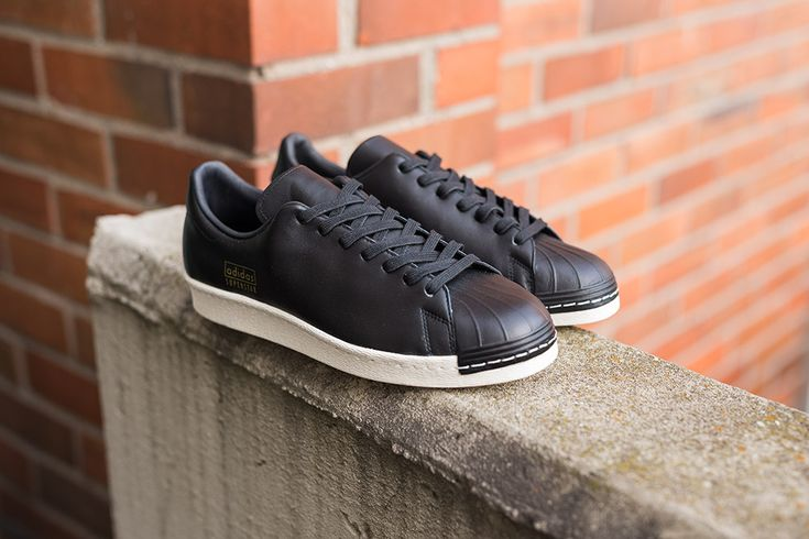 Adidas Superstar Black White Sole