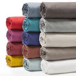 1000 ideas about drap en lin on pinterest drap lin chambre coucher gris. Black Bedroom Furniture Sets. Home Design Ideas